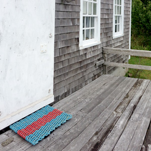 Multi-Color Reclaimed Rope Doormats