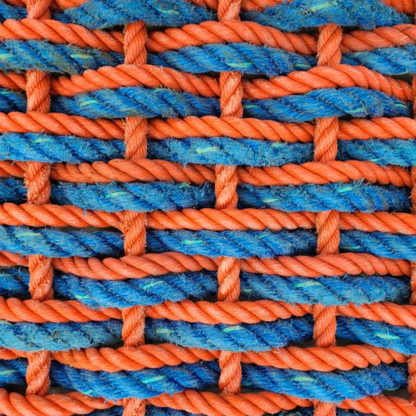"Orange & DeepSea Double Weave Reclaimed Doormat ""Florida Gators"""